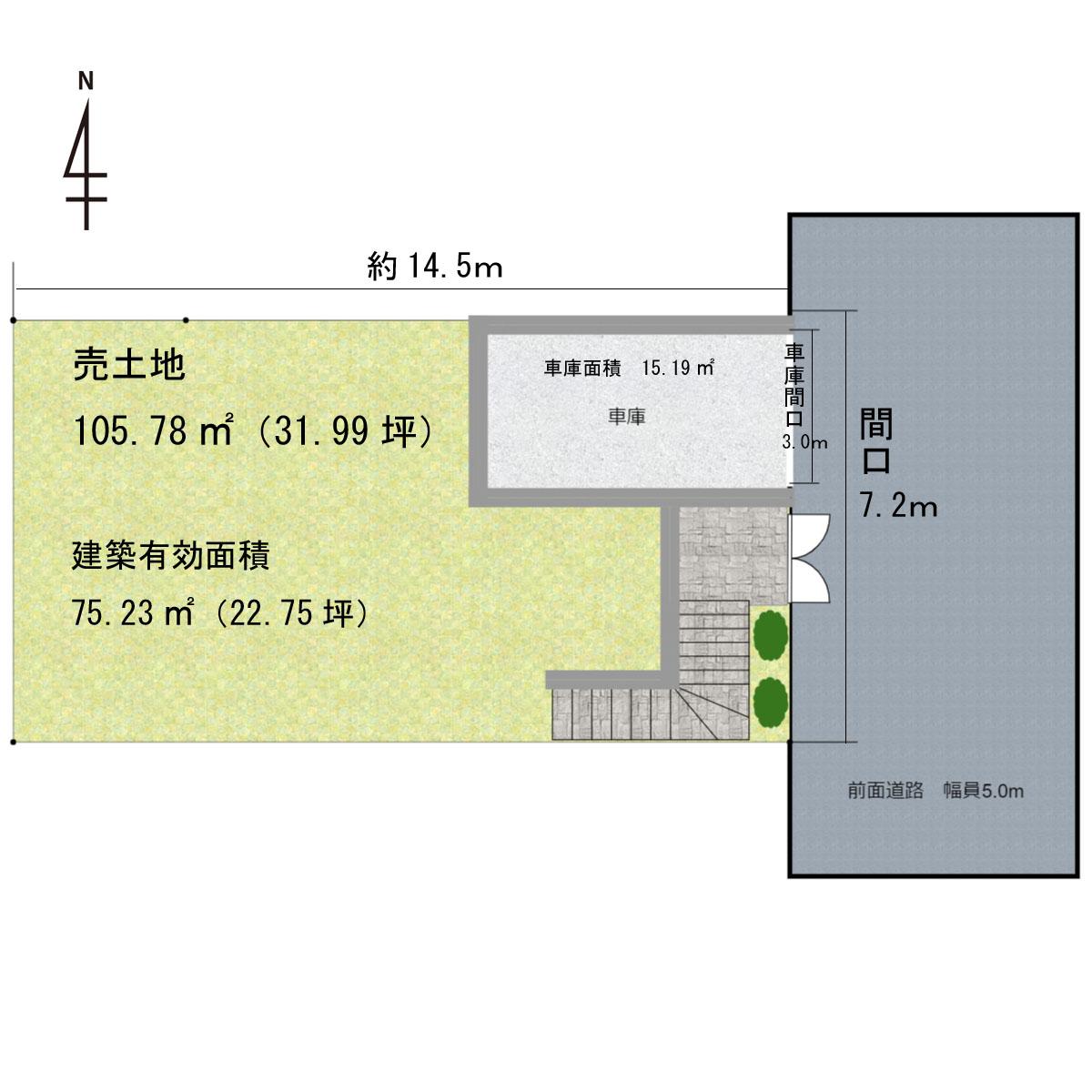 売地-高知市加賀野井